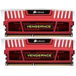 Memory 8GB DDR3 1600MHz 9-9-9-24 Unbuffered Kit Red