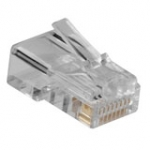 Modular Connector RJ45 Round Stranded 10pcs