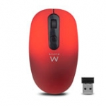 Wireless Mouse 1000dpi Red