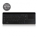 Smart TV Keyboard with Built-in Touchpad Az/BE